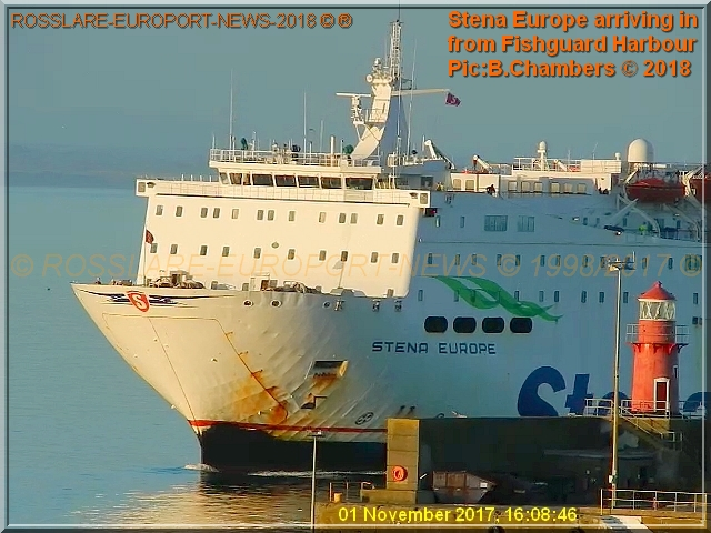 Arrivals departures 2017 at rosslare europort etc - Rosslare ferry port arrivals ...